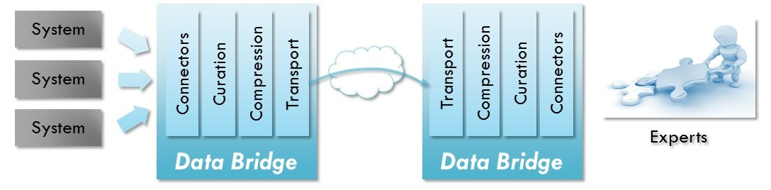 Data Bridge Components for Real-Time Data Remote Access