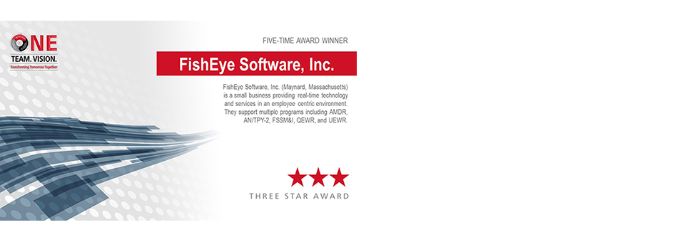 FishEye in Top 2% of Raytheon Suppliers & 5th Excellence Award
