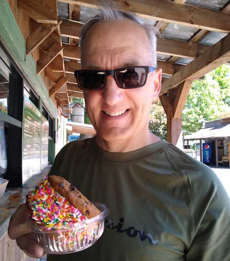 Who knew they sold these (gigantic ice cream sandwiches) at Canobie?